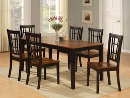 dinette kitchen dining room set 7pc table and 6 chairs