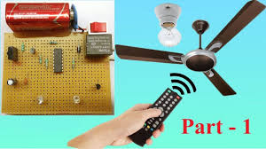 Fan And Light Remote Control Circuit Control Fan And Light Using Tv Remote Part 1 In 2019
