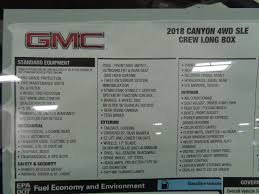 2018 gmc 5 3. modren 2018 2018 gmc canyon 4wd crew cab long box sle  16783351 4 inside gmc 5 3