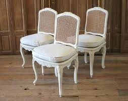 Set of <b>6</b> French Country Louis XV Style Cane Back <b>Dining Chairs</b> ...