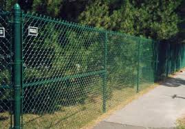 wire fence designs.  Wire Green Chain Link Fence On Wire Fence Designs D