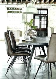 amazing industrial dining room table cafedream industrial dining room chairs decor on industrial dining