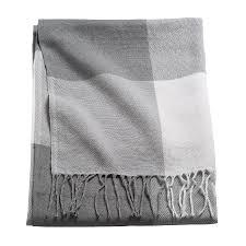 Купить АННАМИА <b>Плед</b>, серый/белый по выгодной цене - <b>IKEA</b>