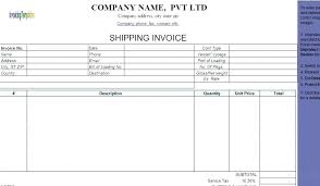Invoice For Shipping Definition Of Commercial Invoice What Commercial Invoice Definition