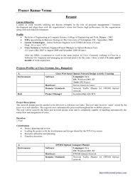 Resume Samples For Mba Hr Freshers Bullionbasis Com