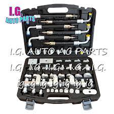 air conditioning repair tools. brand new auto air conditioner leak tools ac compressor condenser evaporator repair plugging connector conditioning