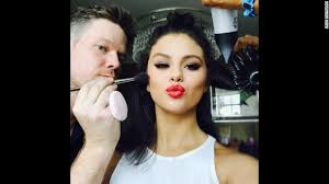 selena gomez no ama 2016 makeup artist jake bailey 39 s drew tributes from numerous starlets