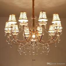 gold crystal chandelier 8 lights contemporary ceiling chandelier modern candle crystal chandeliers murano venetian style chandelier canada 2018 from
