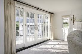 french door curtains type