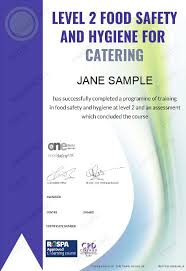 Food Safety Course Answers Level 2 Food Safety And Hygiene For Catering Course 10
