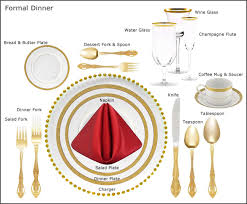 formal dining place setting picture. 34. dining room, formal dinner table setting place . picture n