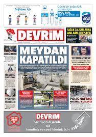 """Devrim Gazetesi on Twitter: """"DEVRİM GAZETESİ 11 NİSAN 2020 1.SAYFA  #hakikatikonusmaktankorkmayiniz #haber #devrim #corlu… """""""