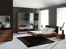dark wood furniture. Dark Wood Bedroom Furniture Decor White Blinds Purple Bed Covers