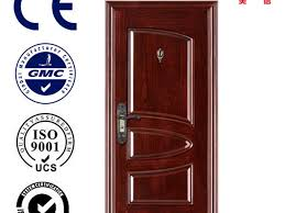 Unique Home Designs  Single Door  Almond  Security Doors Unique Home Designs Security Door