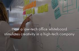 whiteboard for office wall. How A Low-tech Office Whiteboard Stimulates Creativity In High-tech Company For Wall