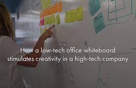 office whiteboard ideas. How A Low-tech Office Whiteboard Stimulates Creativity In High-tech Company Ideas
