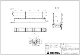 Ship Gangway Design Telescopic Gangway Offshore Design Aluminium Glen Flange