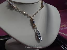 14kt italian tri color lariat necklace costco 2
