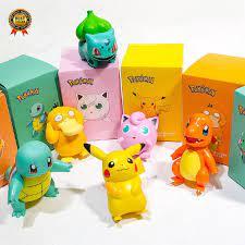 Tượng Mô Hình Nhân Vật Pikachu Hoạt Hình Bằng Nhựa PVC giảm chỉ còn 104,580  đ