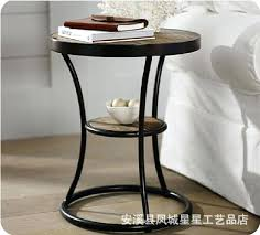 wrought iron coffee table retro wood wrought iron coffee table sofa side iron wood loft angle wrought iron coffee table