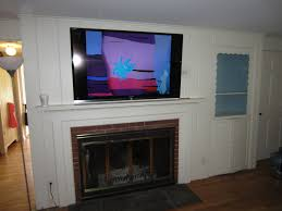 Mount Tv Over Fireplace Mounting A Over A Stone Or Brick Fireplace Mounting A Tv Over A Fireplace