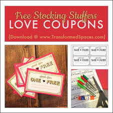 Downloadable Coupons Free Downloadable Love Coupons Stocking Stuffers Lovebecreate Com