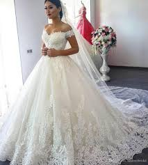 ball gown wedding dresses 2018 sweetheart short sleeve lace up