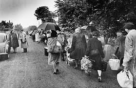Image result for 1945 refugees