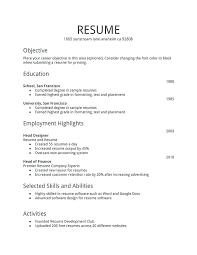 Resume Template Pdf Download Impressive Resume Example Template Finance Resume Format Template Curriculum