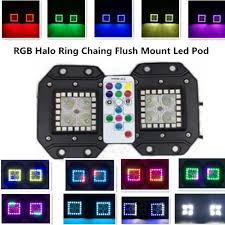 3 2 inch 16w halo ring rgb chasing cree led pod rf remote 3 2 inch 16w halo ring rgb chasing cree led pod rf remote controller led work