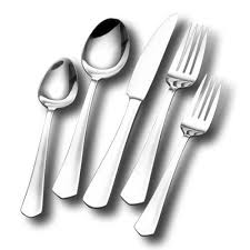 sienna 5 piece stainless steel flatware