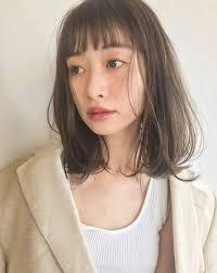 面長さん似合うおすすめの髪型ヘアスタイル50選2019 Hair 30