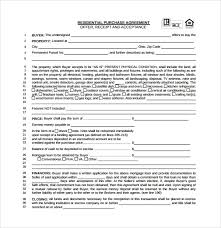 Home Purchase Agreement Form Free Amazing Simple Purchase Agreement Form Real Estate Ceriunicaasl