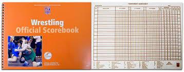 13131 - Cramer Official Nfhs Wrestling Scorebook - The Best Sporting ...