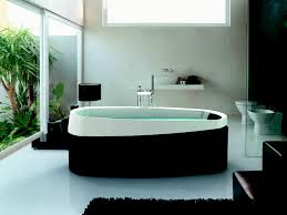 Bathroom:Smart Ways To Place Your Original Jacuzzi Design For Your Homes  Wonderful Oval White