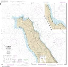 San Clemente Tide Chart San Clemente Lsland Northern Part Wison Cove 18763 11 By