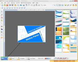 Drpu Business Card Maker Software Design Visiting Card Company Logo