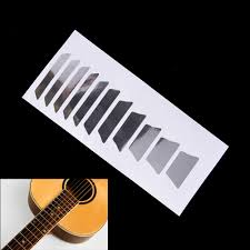 Fret Inlay Designs Us 0 65 17 Off 1 Sheet Guitar Fretboard Inlay Stickers Guitar Sticker Acoustic Electric Fret Neck Decals Markers In Guitar Parts Accessories From