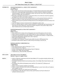 Senior Architect Professional Resume Samples Velvet Jobs