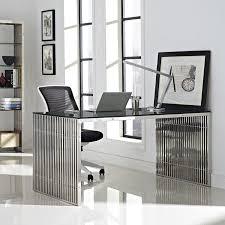steel office desks. Marvelous Stainless Steel Office Desk 21 On Creative Home Decoration Ideas With Desks
