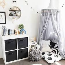 hanging kids baby bedding dome bed canopy cotton mosquito net bed cover curtain for kids reading playing home decor mosquito net mosquito net