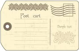 Vintage Postcards Templates Old Postcard Template Free Vintage Templates Photo Fashioned