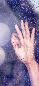 rain girl shy iPhone X Wallpapers Free ...