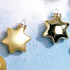 Amazonde Christbaumschmuck Sterne Gold