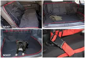 details about black pet dog car seat boot protector bed guard cover for bmw x3 2016 2017