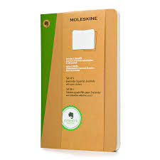 Moleskine Evernote Cahier Large Squared Journal Set Of 2 5 1 X