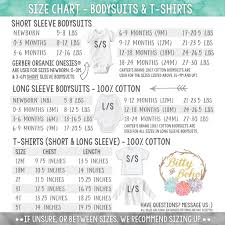 Gerber Onesie Size Chart Gerber Clothes Size Chart The Best Clothes 2018