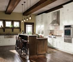 ... Quartersawn Oak Cabinets In A Rustic Kitchen By Decora Cabinetry ...