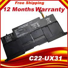 2019 <b>C22 UX31</b> C23 UX31 Original Laptop Battery For Asus ...