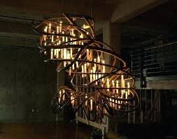 chandelier with candles oh